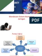 Mendesain Sistem Keamanan Jaringan