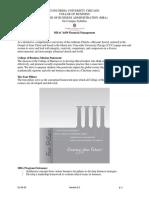 MBAC-6450 OnCampus Syllabus