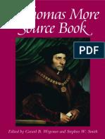 a Thomas More Sourcebook