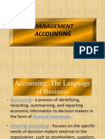 Management Accounting- Sample