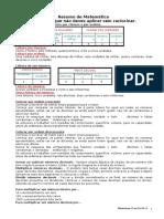 Dossier Do Professor - Resumos de Mat 4º Ano (1)