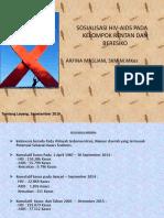 Desiminasi Informasi Hiv 2016