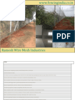 Fencing India Web Price List