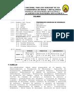 Sillabus de Preparación Mecanica de Minerales 2014-Is