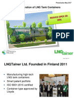 Generation of LNG Tank Containers