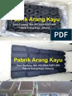 Cuci Gudang, WA +62 8564-0287-456, Pabrik Arang Kayu