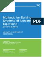 [Werner C. Rheinboldt] Methods for Solving Systems(BookFi)