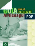 Guia Para El Paciente Anticoagulado