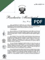 RM 510 2013 MINSA Esquema Nacional de Vacunación