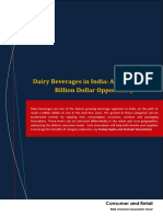 Dairy Beverages in India