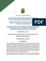 15-13 Triple Reiteracion Caducidad Demandas Contencioso Administrativas