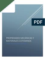 Práctica 3 Propiedades Mecánicas y Materiales Cotidianos