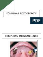 Komplikasi Post Operatif (1)