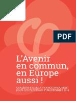 Liste de La France insoumise pour les Européennes 2019