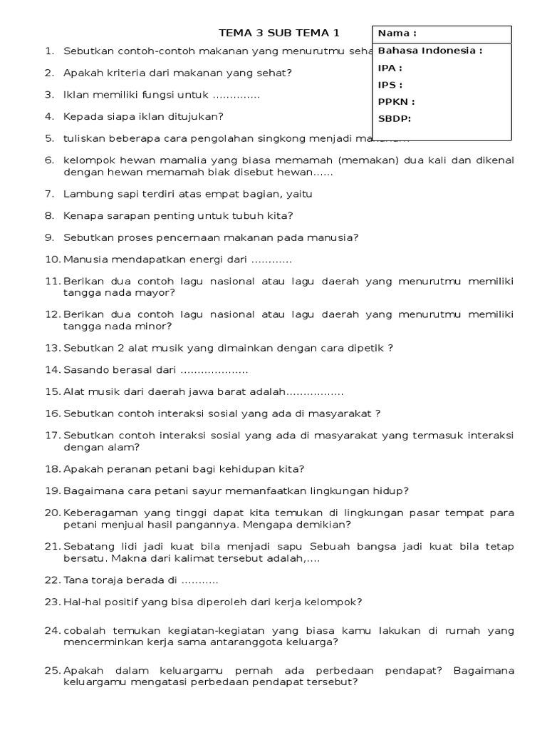 Tema 3 Sub Tem 1