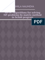 NP=P_ Algorithms for solving NP-problems by matrix method in Scilab program
