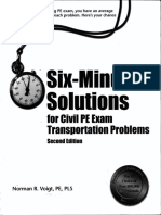 11. Six Minutes Solutions for Transporation Engg.pdf