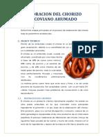Elaboracion Del Chorizo Cracoviano Ahumado Ana
