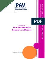Historia de Los Movimientos Obreros en México