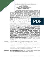 Acta No. 226 2010 Sesion Ordinaria Del Consejo Tecnico Consultivo