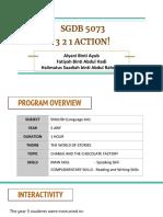 teyl presentation 3 2 1 action