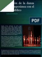 Relación de La Danza Contemporánea Con El Arte