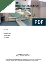 Tomographie Par Emission de Positons (Tep)