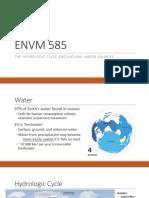 Mod2 Ch3 Hydrology