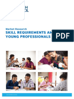 Skill Requirements Among Young Professionals in India