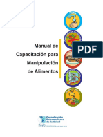 Manual de capacitación para manipulación de alimentos - OPS.pdf