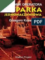 Poradnik Operatora Koparka Jednonaczyniowa s 3p00