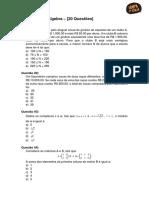 Matematica Algebra 20 Questoes (2)