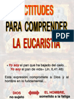 Actitudes Xa Comprender La Eucaristia Carlos Pabon