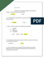 Cuestionario, Empresa