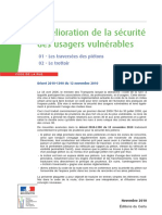 CERTU Amelioration Securite Usagers Vulnerables