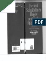 Schnaedelbach - Hegels Praktische Philosophie