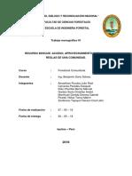 Informe de Manacamiri