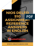 510 Solved English Assignment