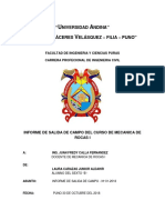 Universidad Andina Campo Rocas