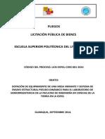 PLIEGO-LICB-ESPOL-CDEE-001-2014-WORD