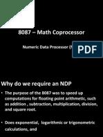 8087 – Math Coprocessor