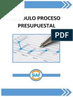 Modulo Proceso Presupuestal