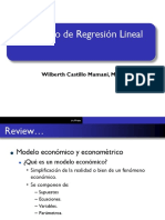 Regresion Lineal QM
