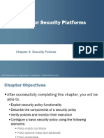 JNCIS SEC PPT - Security Policies - Coruse 10.a