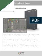 Ableton Basics 1