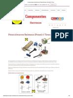 Componentes Electrónicos _ Potenciómetros (Preset) ó Timer
