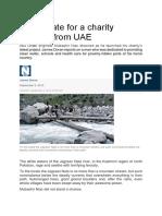 A Cruel Fate for a Charity Stalwart From UAE
