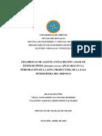 aditivo antiacrecion Piñòn