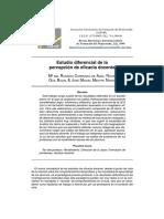 Carreras, Guil y Mestre (1999) Percepcion de Eficacia Docente