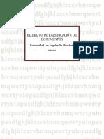 Falsificacion de Documentos